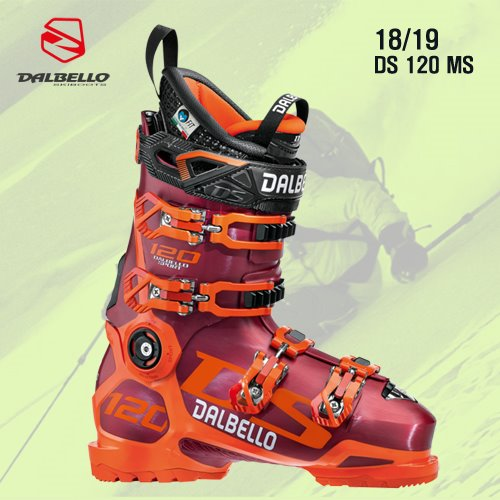 1819시즌 DALBELLO DS 120 MS RED/ORANGE