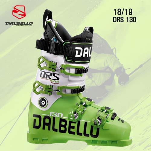 1819시즌 DALBELLO DRS 130 LIME GREEN WHITE