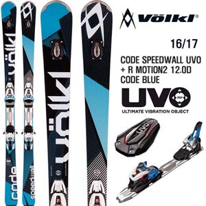 16/17시즌 VOLKL CODE SPEEDWALL UVO/R MOTION2 12.0D CODE BLUE
