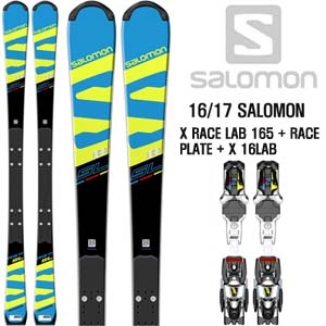 16/17시즌 SALOMON X RACE LAB 165 + RACE PLATE + X 16LAB