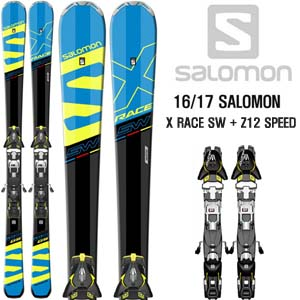 16/17시즌 SALOMON X RACE SW + Z12 SPEED