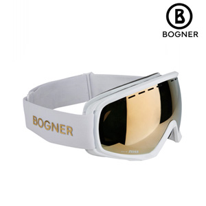 16/17시즌 BOGNER 고글 MONOCHROME WHITE프레임+GOLD렌즈
