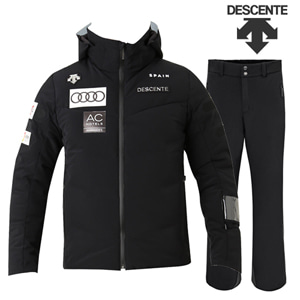 17/18시즌 DESCENTE SPAIN JKT (D8-8516KR) BK색상+TEAM PANTS(D8-8124) BK색상