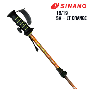 1819 시즌 SINANO FREE SV-LT (FAST LOCK) ORANGE 길이 조절 폴