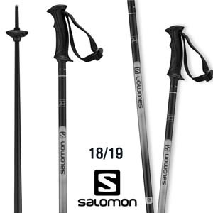 1819시즌 SALOMON X NORTH LADY BLACK 알루미늄폴