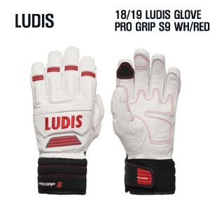 1819시즌 LUDIS PRO GRIP S9 WHITE/RED 색상