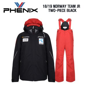 1819시즌 (아동/주니어용) PHENIX NORWAY TEAM JR BLACK