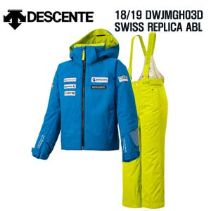 1819시즌(아동/주니어) DESCENTE DWJMGH03D JR SUIT SWISS REPLICA ABL