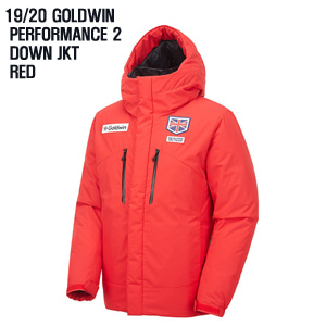 1920시즌 GOLDWIN 자켓 PERFORMANCE2 DOWN JKT RED