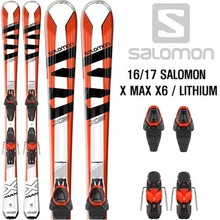 16/17시즌 SALOMON X MAX X6 (RED) / LITHIUM10