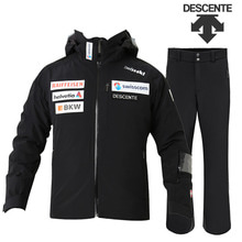 17/18시즌 DESCENTE SWISS JKT (D8-8617KR) BK색상+TEAM PANTS(D8-8124) BK색상