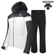 17/18시즌 DESCENTE SPANISH JKT (D8-8619KR) SPW색상+TEAM PANTS(D8-8124) BK색상