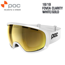 1819시즌 POC GOGGLE FOVEA CLARITY WHITE/GOLD