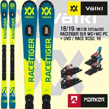 1819시즌 VOLKL RACETIGER SPEEDWALL SLR WC+WC PC+UVO+ RACE XCELL16(티타늄3장)
