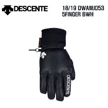 1819시즌 DESCENTE 5FINGER GLOVE DWAMJD53 스키장갑 BWH색상