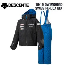 1819시즌(아동/주니어) DESCENTE DWJMGH03D JR SUIT SWISS REPLICA BLK