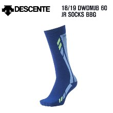 1819시즌(아동/주니어) DESCENTE JR SOCKS DWDMJB60 BBG