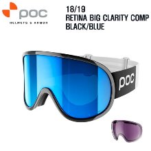 1819시즌 POC GOGGLE RETINA BIG CLARITY COMP BLACK/BLUE