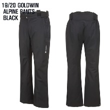 1920시즌 GOLDWIN ALPINE PANTS BLK